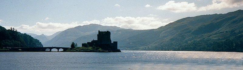 Eilean Donan Castle,<br /> Dornie, Scotland