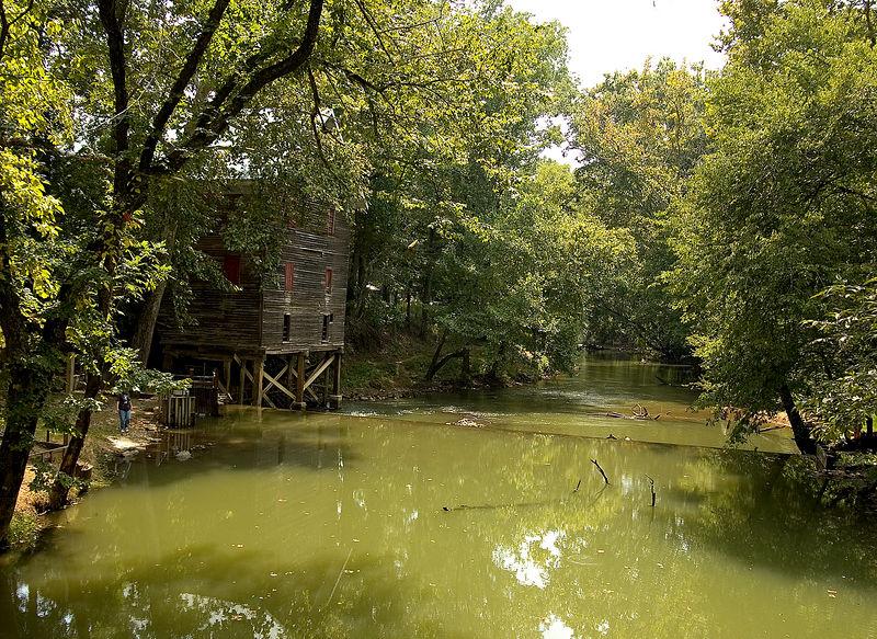 Grist Mill<br /> Kymulga, Alabama