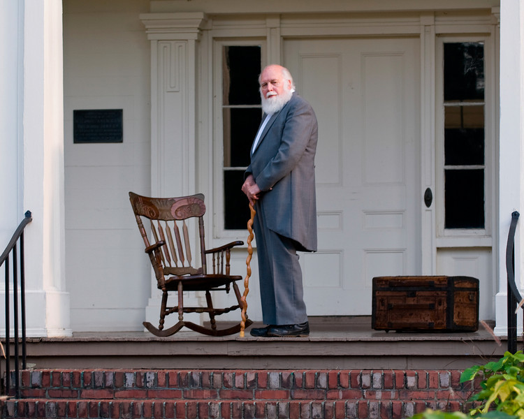 The Patriarch,  A Southern Gentleman<br /> Photo by John Bowen