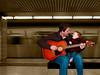 Duet<br /> <br /> Matt & Avery Holder singing a duet in the Toronto Underground.