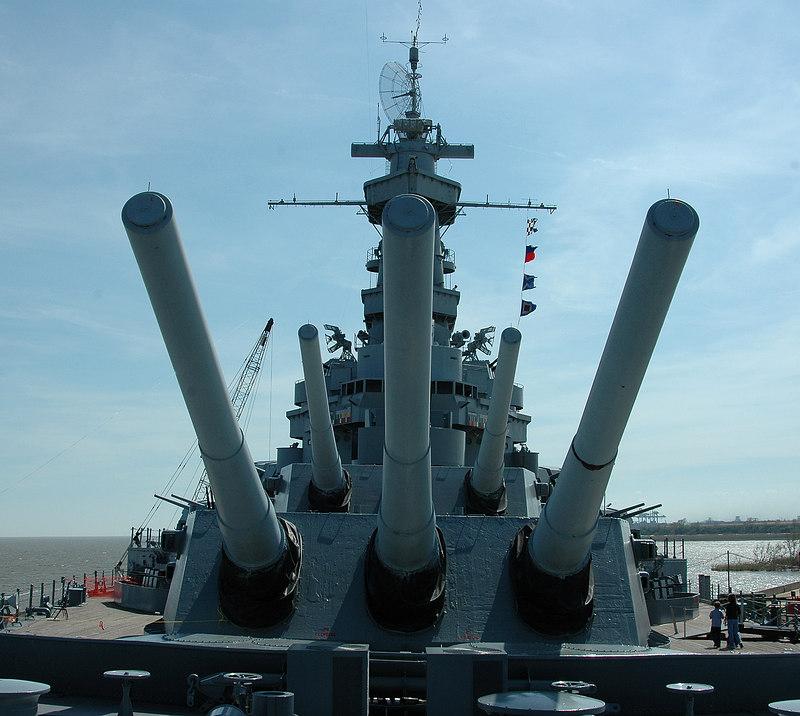 Battleship, Alabama<br /> Mobile Bay, Alabama