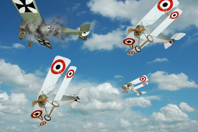 Red Baron's Last Flight<br /> Second Place, SVCC<br /> Janury 2007