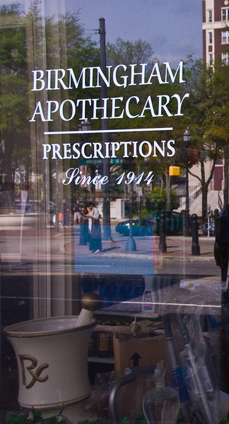 Birmingham Apothecary<br /> Second Place, SVCC<br /> May, 2008
