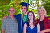 James's HS Graduation<br /> The Douglas Family<br /> John, James, Jessica, Dana
