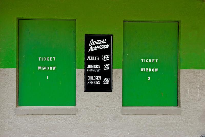Ticket Windows