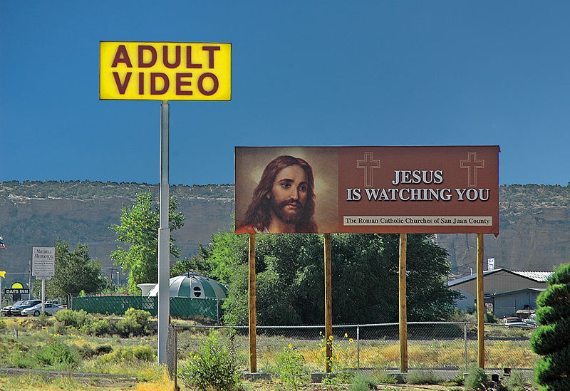 Holy Adult Videos?<br /> First Place, Shades Vally Camera Club<br /> February 2006