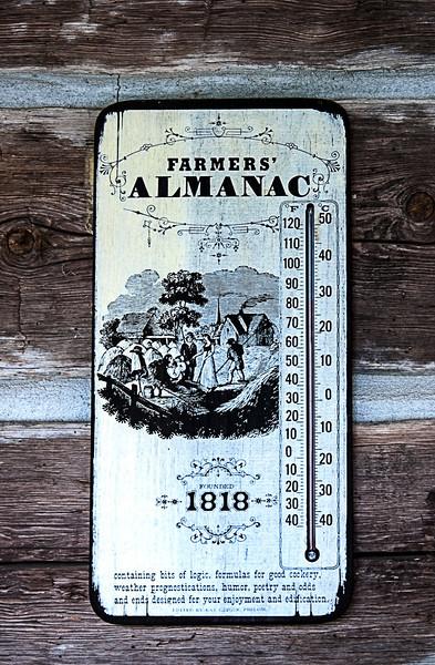 Farmers' Almanac Thermometer