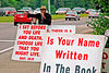 Roadside Evangelist & his signs.<br /> Third Place, <br /> Shades Valley Camera Club, <br /> August 2006