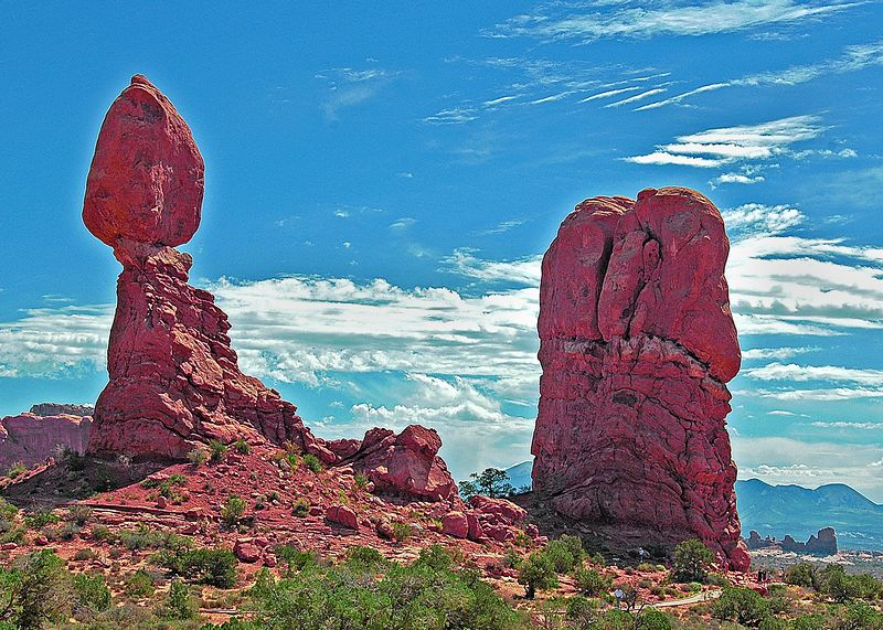 Balanced Rock <br> Arches National Park