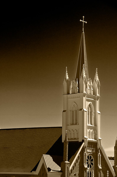 Steeple<br /> <br /> St Mary's in the Mountains
