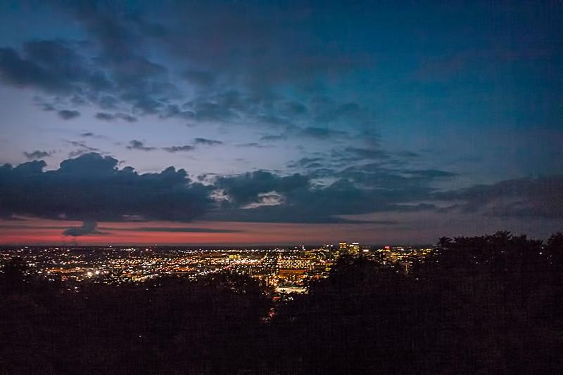 Birmingham Alabama at Night