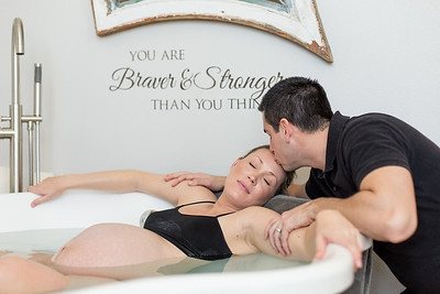 Doula/Couple/BirthCenter/waterbirth