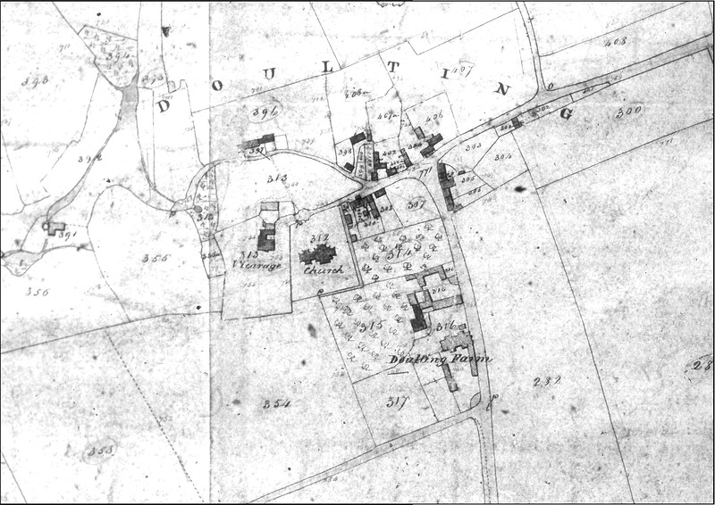 1843 Tithe Map of Doulting