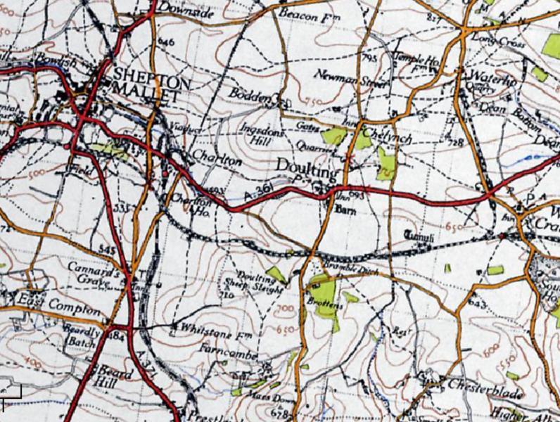 Ordnance Survey 1945