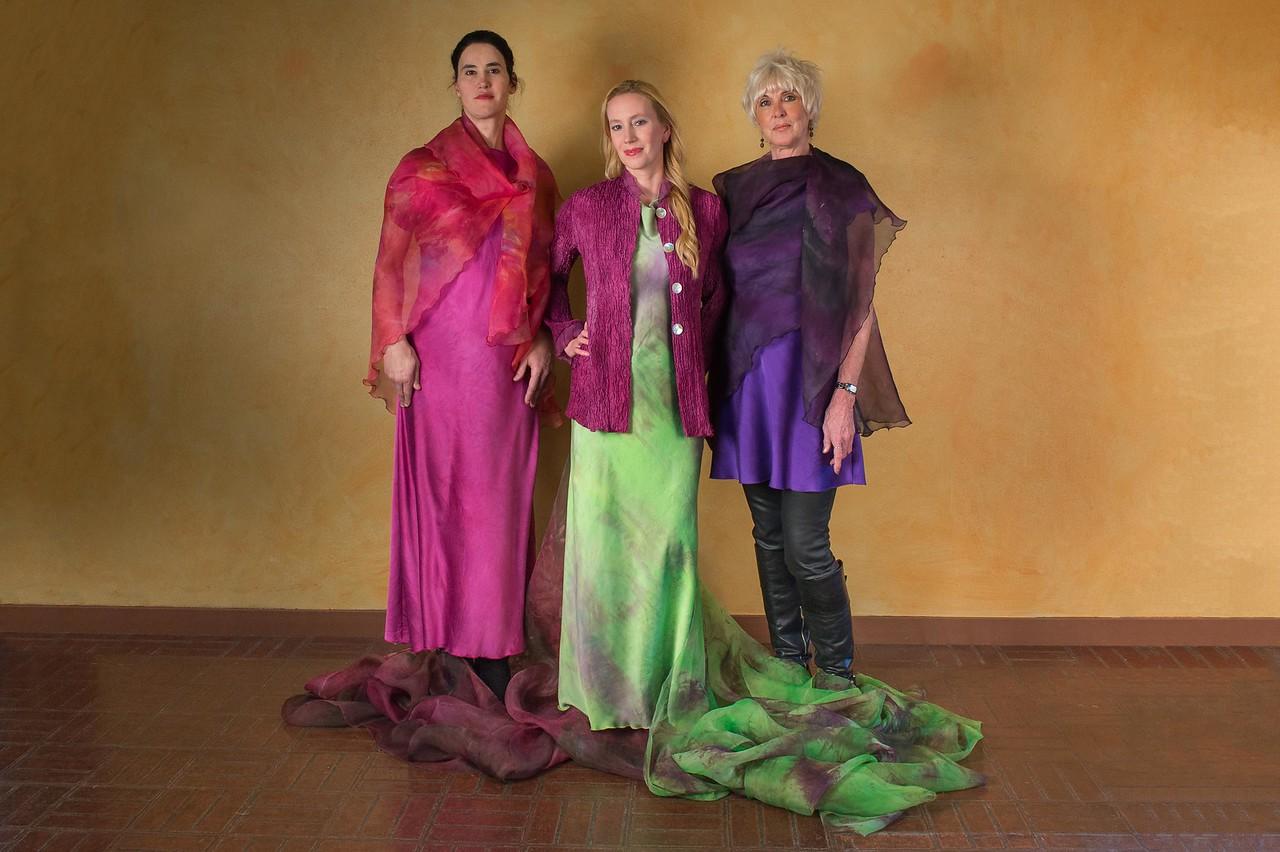 Dova Silks Fashion Shoot at Two Wall 2