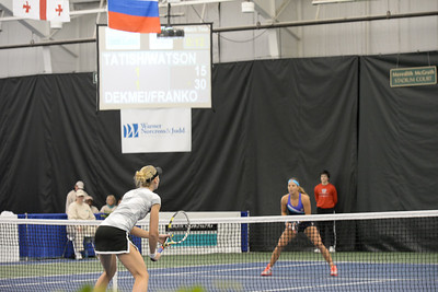 Anna TATISHVILI (GEO) Heather WATSON (GBR) [4] v Liga DEKMEIJERE (LAT) Nikola FRANKOVA (CZE) (Friday)