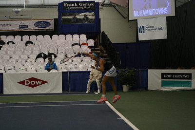 Anna TATISHVILI (GEO) / Heather WATSON (GBR) [4] vs. Asia MUHAMMAD (USA) / Taylor TOWNSEND (USA) (Thursday)