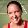 July 28, 2011 - Bronx, NY : Internationally ranked tennis player and longtime Riverdalian Lena Litvak, photographed at Seton Park on July 28. Karsten Moran / The Riverdale Press
