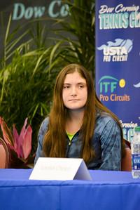 Player Press Conference - Caroline Szabo