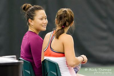 Jovana Jaksic (SRB)-Shilin Xu (CHN) v Lauren Davis (USA)-Grace Min (USA)
