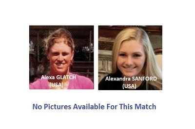 Alexa GLATCH (USA) v Alexandra SANFORD (USA) | Thursday-2016