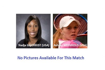 Nadja GILCHRIST (USA) v Ashley WEINHOLD (USA) | Sunday-2016