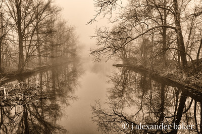 Pale Mirror River