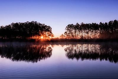 River Dunes Sunrise