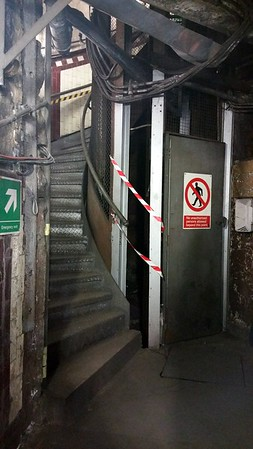 We reach to bottom and proceed to see where Churchill`s staff all worked in the converted tunnels