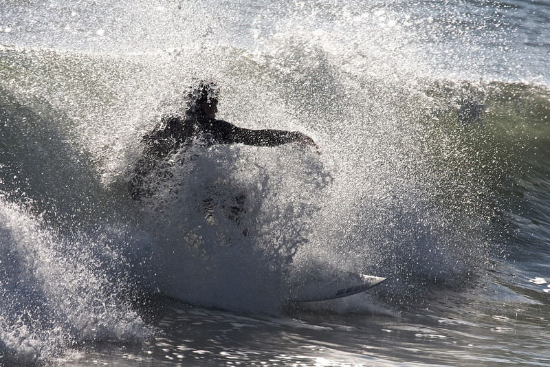Surfer Silhouette 3