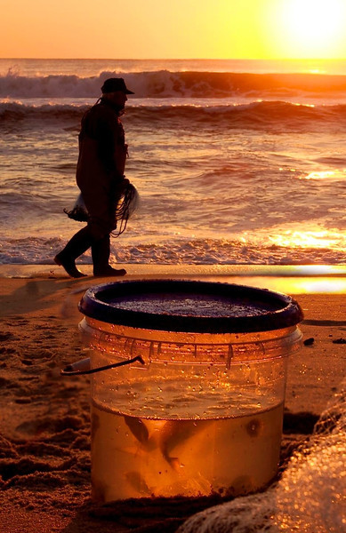 Sunrise Fisherman, Lavallette