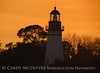 Amelia Island Lighthouse, FL at sunset (2)