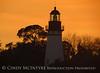 Amelia Island Lighthouse, FL at sunset (2)