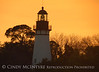 Amelia Island Lighthouse, FL at sunset (1)