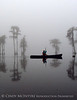 Canoeing in fog, Banks Lake NWR, GA (16)
