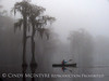 Canoeing in fog, Banks Lake NWR, GA (9)