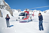 Cheryl and Andy walk on Franz Josef Glacier