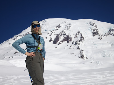 Camp Muir Ski - April 2011