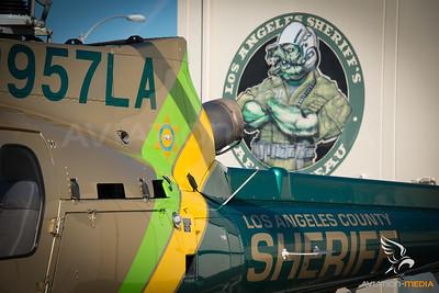Los Angeles County Sheriff / AS350 / N957LA