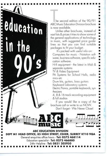1991OriginalProgramme