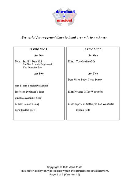 Radio Mics: Page 2