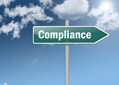 "Signpost ""Compliance"""