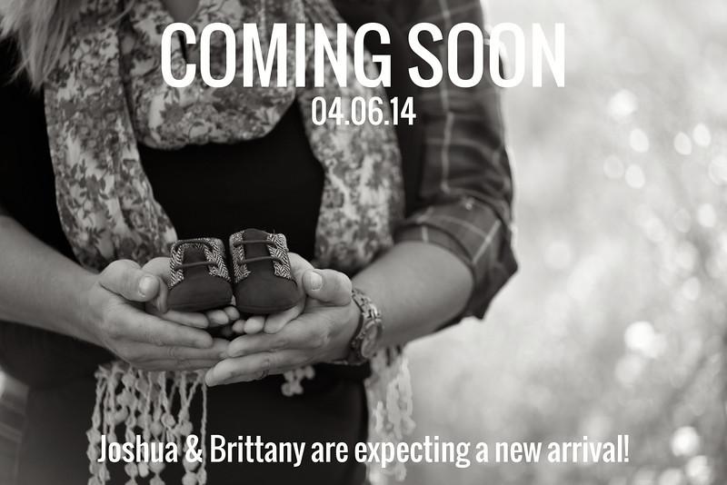 Announcement | Nicole Marie Photographybw
