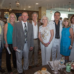 KY Thoroughbred Owners Group, Daniel Woodside, Angie and Paul McGee, David Osborne, Jean and Bill Shewciw, Margaret Woodside, Lori Osborne and Ron Beagle.