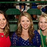 Chelsea Hamilton, Sarah Williams and Laura Bowling.