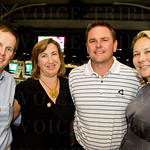 Patrick and Carolyn Keller with David and Megan Goheen.