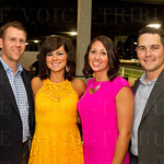 Josh and Lisa Peters with Ashlee and Brett Carey.