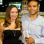Megan McGuire and Daniel Saforo.