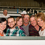 Shay and Bradly Lancaster, Patti and Staci Voyles with Bill and Susan Lancaster.