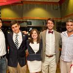 Luke Flint, Alex Baker, Celeste Fisher, Andrew Grider, Jason Schmidt and Madison Ewing.